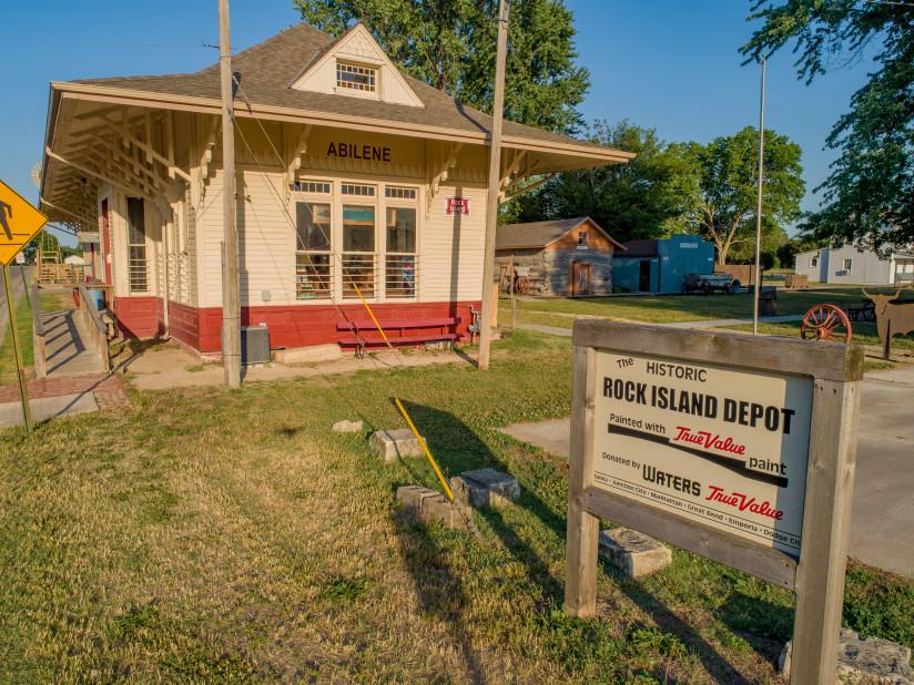 ASVRR-Rock-Island-Depot-Abilene,KS