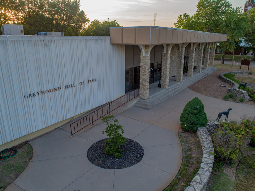 Greyhound-Hall-Of-Fame-Abilene,KS