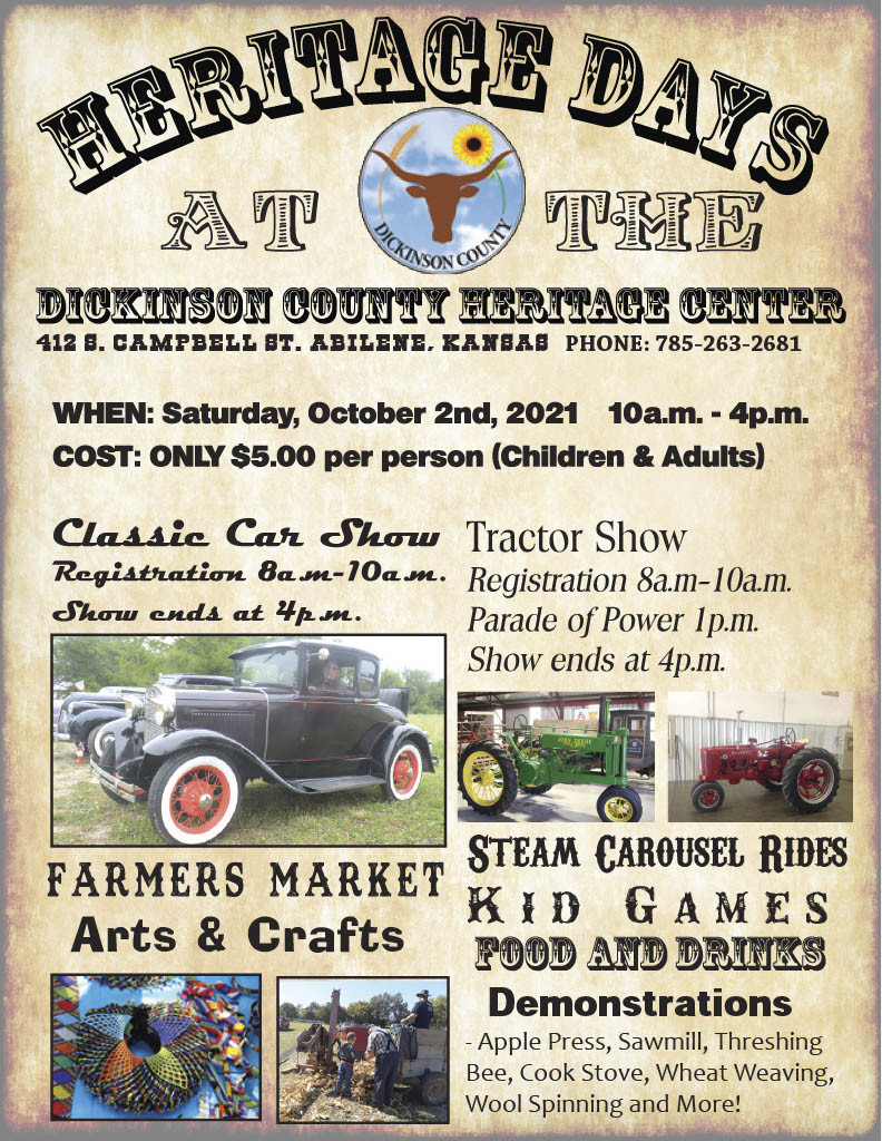 Dickinson-County-Heritage-Days-Abilene,KS