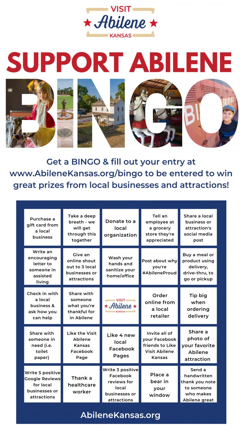 Support Abilene BINGO - Abilene,KS