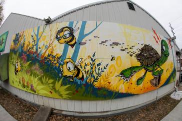 Cedar-House-Greenhouse-Mural-Abilene,KS