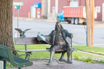 Benjamin-Franklin-Abilene,KS