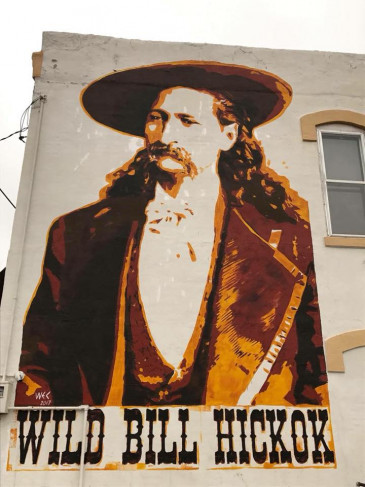 Hickok-Mural-Abilene,KS