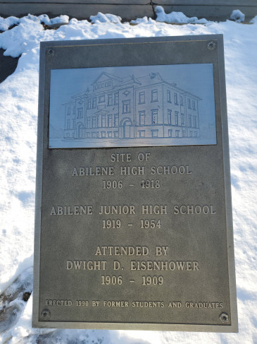 Former-Abilene-High-School-Sign-Abilene,KS