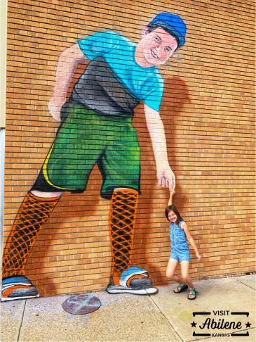 Harmon-Mural-Abilene,KS