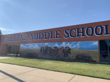 Longhorn-Mural-Abilene,KS